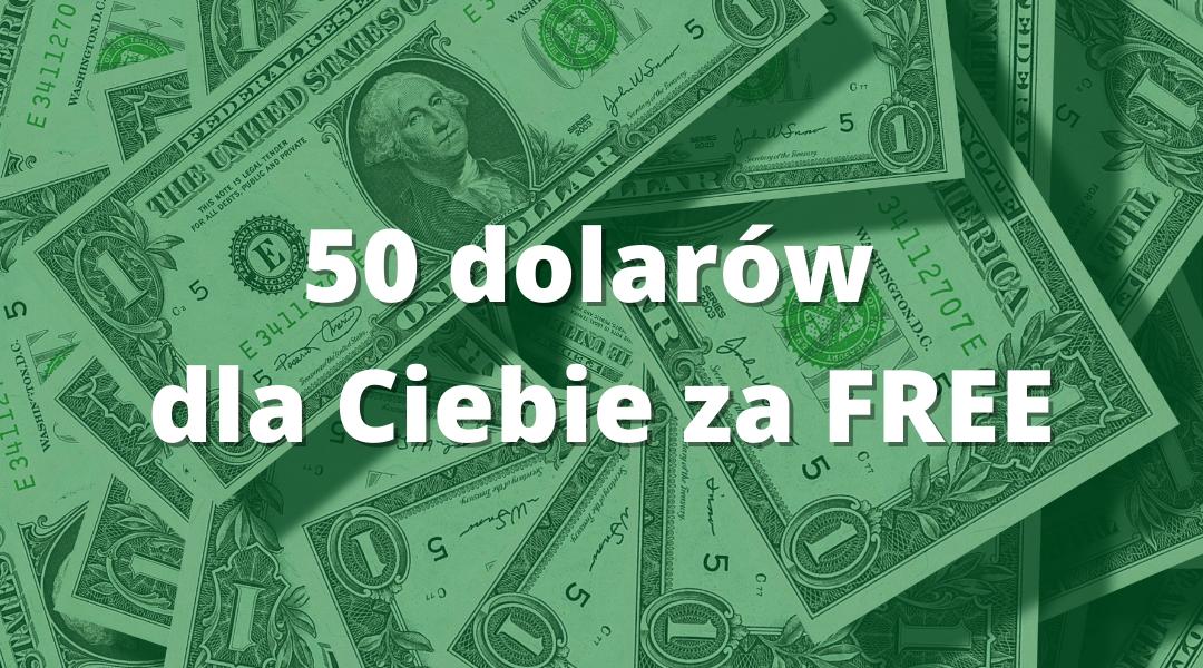 Jak otrzymać 50 dolarów i zacząć zarabiać na cashback